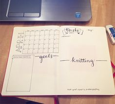 Started setting up April in my #bulletjournal tonight using @ordinaryepiphany as my inspiration.  I love how she set up her month and week spreads.  Check her out!  Going to give her version a try this month and see how I like the different format.  #planner #bulletjournaljunkies #bulletjournallove