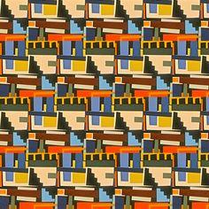 Potemkin Stairs fabric by boris_thumbkin on Spoonflower - custom fabric