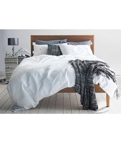 Buy Heart of House Wyatt Waffle White Bedding Set - Superking at Argos.co.uk - Your Online Shop for Duvet cover sets.