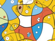 14 designers reimagine 'The Simpsons' - InVision Blog
