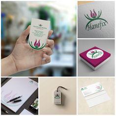 Hanefix'in logosundan sonra kurumsal kimlik çalışmaları da onaylandı :) Şimdi sıra kendileri için tasarlayacağımız e-ticaret sitesinde :)