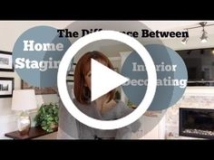 The Difference Between Home Staging U0026 Interior Decorating #lighting Analyze  Excellent Decorating Looks And Thoughts