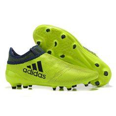 brand new f17e9 73a18 Nuevos Adidas X 17+ PureChaos FG AG Botas De Futbol Verde Negro