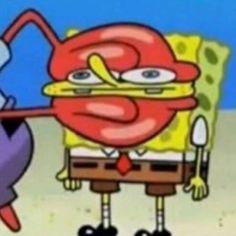 Memes Spongebob, Cartoon Memes, Cartoon Pics, Spongebob Squarepants, Cartoons, Cartoon Drawings, Cartoon Art, Dexter Cartoon, Cartoon Characters
