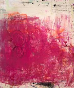 "Saatchi Art Artist Laura Letchinger; Painting, ""ENOUGH SAID (Avail. Offline)"" Pink Abstract #art"