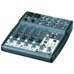 Behringer Xenyx 802 Premium 8-Input 2-Bus Mixer with Xenyx Mic Preamps and British EQs (61% off)