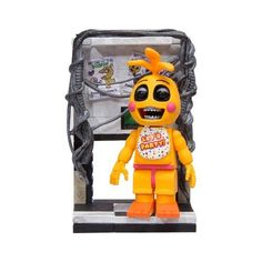 Five Nights At Freddy's Construction Set Right Air Vent Micro Set, Yellow