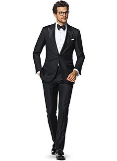 Suit Black Plain Smoking P1199 | Suitsupply Online Store