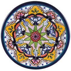 Talavera Salad Plate Pattern 36 Online Discount TH036B