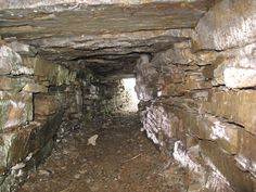 Original Exit from the Wideford Hill Chambered Cairn, Mainland, Orkney, Scotland (J. Demetrescu 2010)