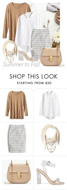 """""""OOTD - Layers"""" by by-jwp ❤ liked on Polyvore featuring TravelSmith, H&M, J.Crew and BCBGeneration"""
