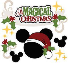 Edible Paper in Creatividades: Christmas Disney Disney Christmas Decorations, Mickey Mouse Christmas, Christmas Svg, Christmas Shirts, Disney Diy, Disney Cards, Disney Ideas, Tema Disney, Disney Designs