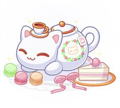 Art by: Lily S Aphmau Pictures, Aphmau Youtube, Aphmau Memes, Aphmau And Aaron, Pusheen Cute, Aphmau Fan Art, Kawaii Art, Cute Anime Character, Cute Photos