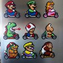 Kitchen doesn't have to be a boring place! Especially with such magnets on the fridge ;) You can buy these Mario Kart magnets separately and in sets of 3, 6, or 9 pieces. You choose which...