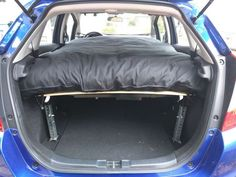 Picture of Car Camping in a Compact Car