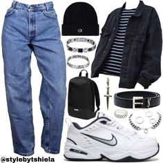 Fashion Tips Color .Fashion Tips Color Edgy Outfits, Swag Outfits, Retro Outfits, Grunge Outfits, Vintage Outfits, Cool Outfits, Beautiful Outfits, Fashion Outfits, Fashion Tips