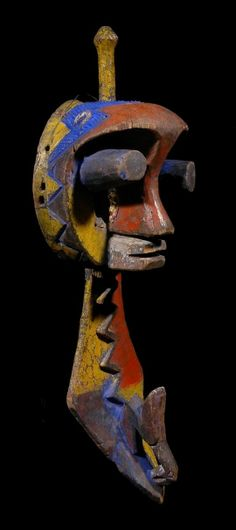 Yoruba Igodo Water Spirit Headdress, Ijebu, Nigeria http://www.imodara.com/post/94210251874/nigeria-yoruba-ekine-water-spirit-headdress