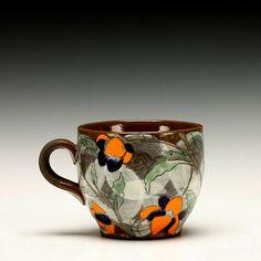 Sanam Emami Flower Tea, Fort Collins, Tea Mugs, Clay, Ceramics, Artists, Studio, Gallery, Creative