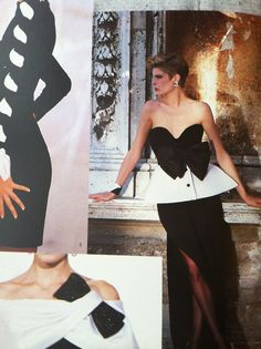 80s couture by Valentino