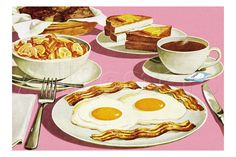 Full Breakfast Prints by Pop Ink - CSA Images at AllPosters.com