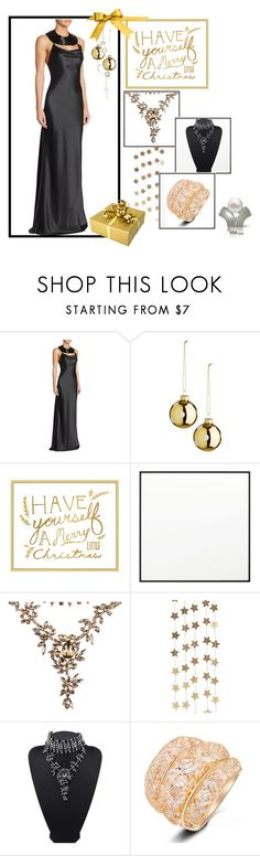 """""""Party Attire"""" by freida-adams ❤ liked on Polyvore featuring Cushnie Et Ochs, Pottery Barn, By Lassen and Berylune"""