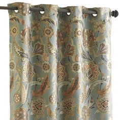 Pier One Imports curtains. Pearson Floral Curtain 84""