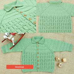 FREE Imperial Yarn baby cardigan pattern - LoveKnitting blog