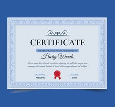 Vintage diploma template free vector certificate pinterest 45 best certificate diploma templates psd eps ai download pronofoot35fo Choice Image