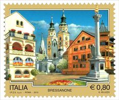 Sello: Bressanone (Italia) (Tourist Attractions) Mi:IT 3683 Stamp World, Italy Tourism, Postage Stamp Collection, Sell Stamps, Interesting Buildings, Fauna, Stamp Collecting, Postage Stamps, Around The Worlds