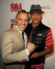 "theo rossi and david laBrava | Theo Rossi and David Labrava - Screening Of FX's ""Sons Of Anarchy ..."
