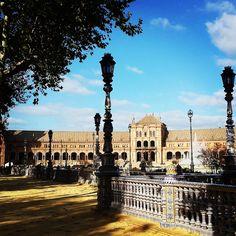 Maravillosos días de #invierno en #Sevilla.