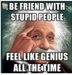 Im a genius lol