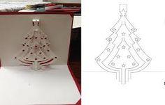 """Résultat de recherche d'images pour """"pop up card christmas tree"""""""