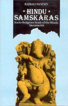 This work discusses the source, meaning, number, Purpose and the constituents of Samskaras grouped under five heads: prenatal, natal, educational, nuptial and funeral. Besides being a landmark in Hindu culture, it presents patterns of life based on high ethical, spiritual and humanistic values. Ref: http://www.exoticindiaart.com/book/details/hindu-samskaras-socio-religious-study-of-hindu-sacraments-NAB336/