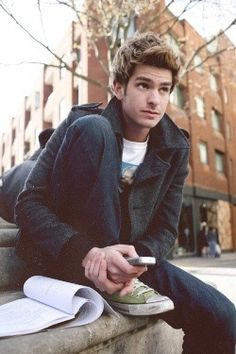 the CLEARLY LOVELY Andrew Garfield.