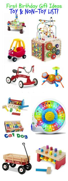 1st Birthday Gift Idea List Has Toy And Non Ideas Theyre All Perfect
