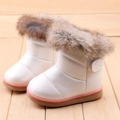 a13fdbcc7c2 Winter Fashion Girls Snow Boots