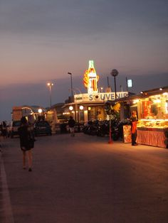 """The Rimini pier at night"" - ""Intro to BlogVille Rimini. The sunset in Emilia-Romagna"" by @keaneiscool"