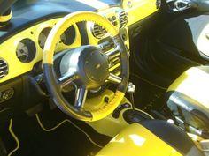 PT Cruiser yellow
