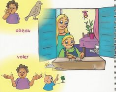 Page18 signe avec bebe French Language Learning, Learning, Languages, Cooking Food, Recipes, Gaming, Learn French