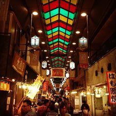 錦市場 (京都錦小路商店街 / Nishiki Food Market) : 京都府
