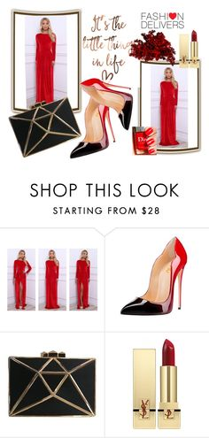 """""""&Fashion Women&"""" by selmamehic ❤ liked on Polyvore featuring Yves Saint Laurent"""