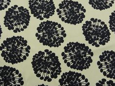You will so appreciate the exquisite nature of the cotton in this finely woven satin with a bit of stretch in the crossweave.  The print is elegant and inviting at the same time.  Black seed puffs float over a winter white ground pulling the eye here and there.  We see this print with multiple uses in your workday or day to evening wardrobe.  Cotton/Lycra. 58 in (C)Shown with Lunette button in Ivory.
