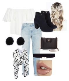 """""""Untitled #86"""" by xxprincessari on Polyvore featuring Valentino, Current/Elliott, Ted Baker, 8 Other Reasons and Monsoon"""