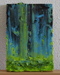Riny Van Cleef, 2014, olieverf, 20 x 14 cm.