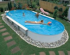 20 Creative Swimming Pool Design Ideas Offering Great Inspirations for Yard Landscaping – backyard design ideas