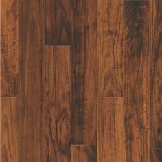 THIS IS WHAT I TOOK HOME A SAMPLE OF BUT HAVE BEEN ABLE TO SCRATCH IT FAIRLY EASILY.  Natural Floors by USFloors 4.72-in Natural Acacia Hardwood Flooring (18.76-sq ft)