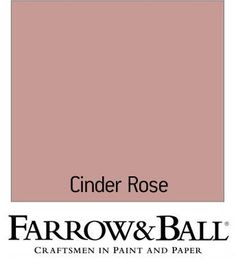 Find Farrow & Ball Estate Cinder Rose - Eggshell Paint - at Homebase. Visit your local store for the widest range of paint & decorating products. Farrow Ball, Farrow And Ball Paint, Rose Bedroom, Rose Nursery, Bedroom Color Schemes, Colour Schemes, Cinder Rose Farrow And Ball, Murs Roses, Monochromatic Room