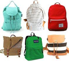 Backpacks forever!