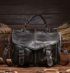 9c9a7a9d69 Tuscan Vintage Oil Wax Genuine Leather Cowhide Bag. Cowhide BagMessenger  Bag MenCheap BagsMen s BagsBriefcaseCasual ...